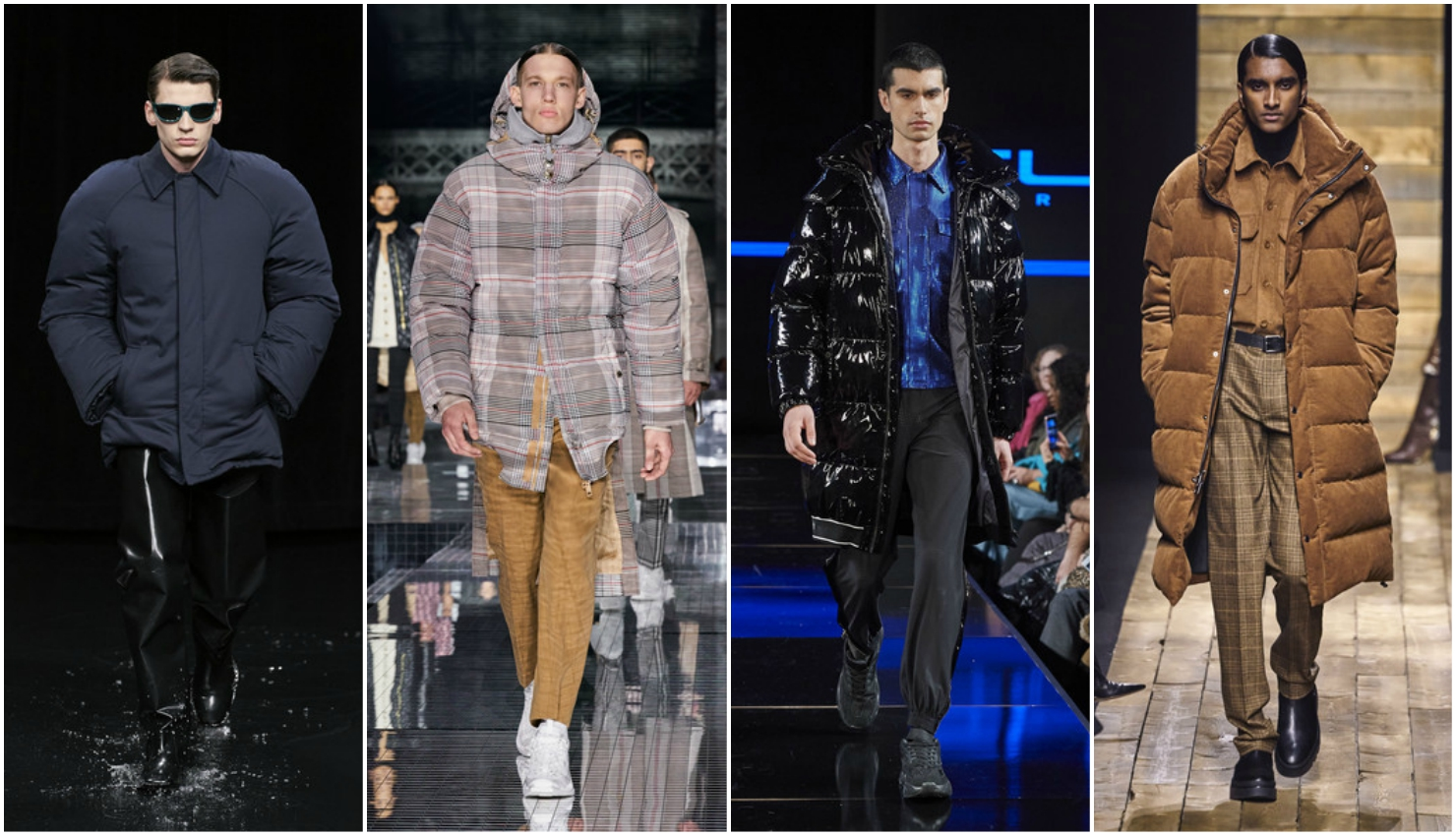 Men's trends fall winter 2020/21 padded jackets