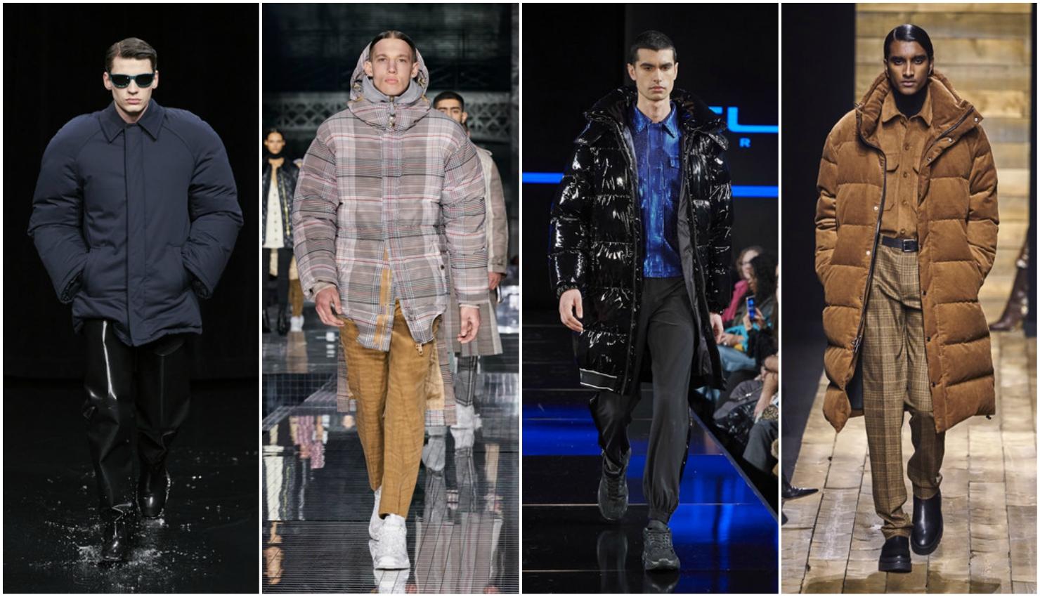 Tendencias hombre otoño invierno 2020/21 chaquetas acolchadas
