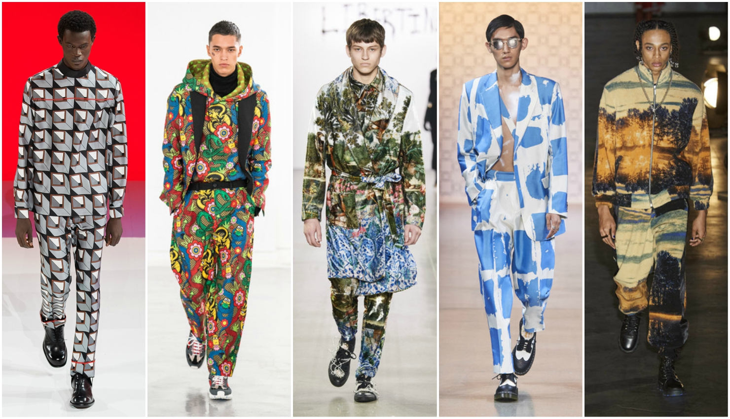Men's trends fall winter 2020/21 prints