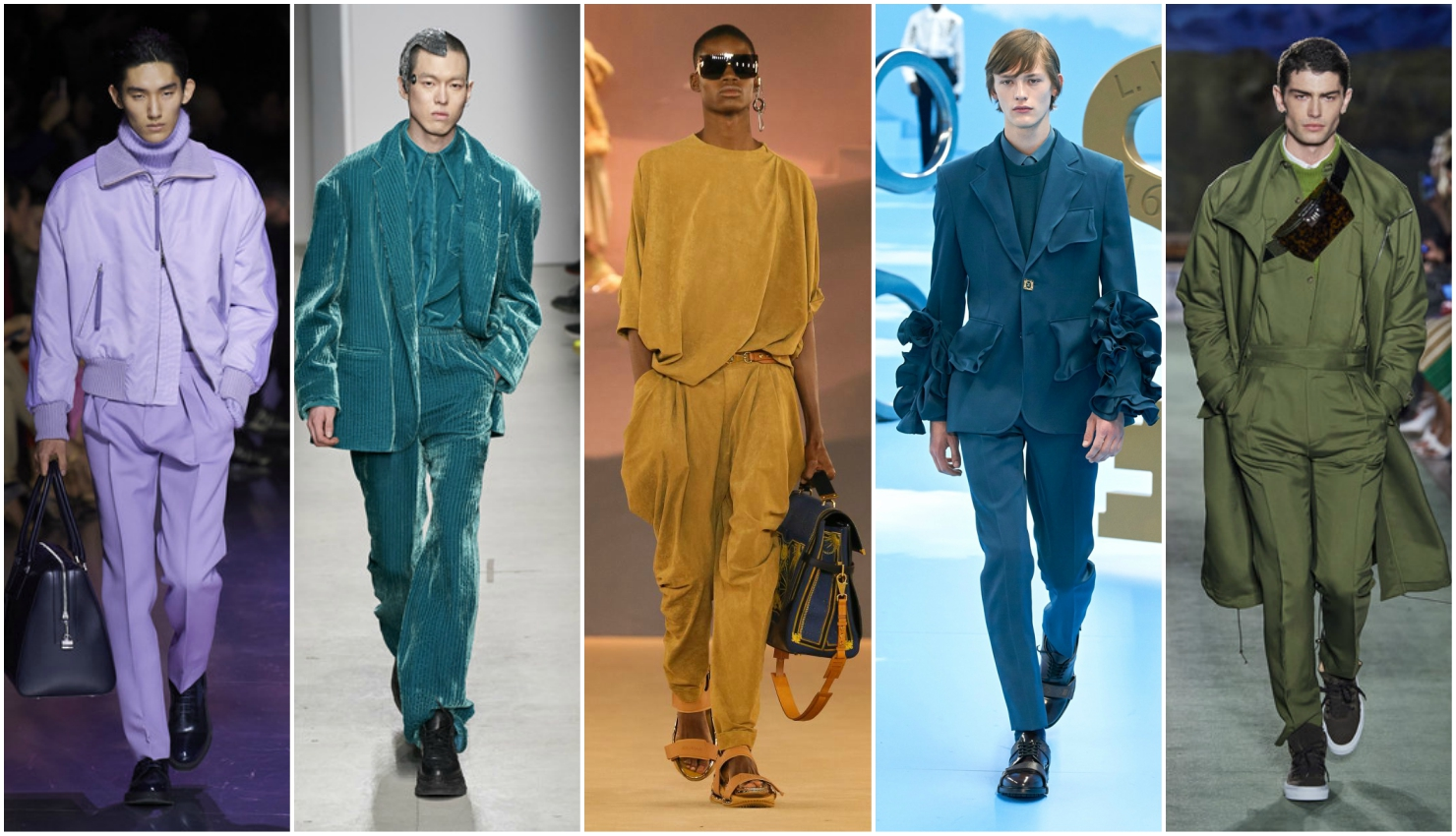 Men trends autumn winter 2020/21 monochrome