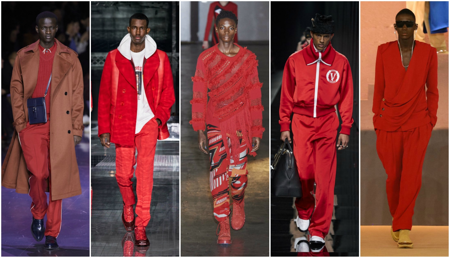 Men's trends fall winter 2020/21 red