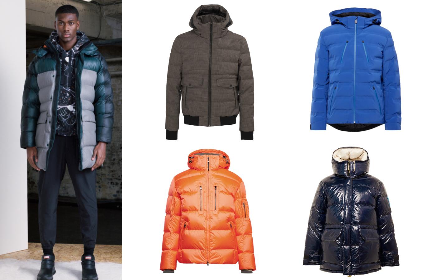 Men's après-ski jackets