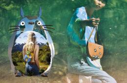 Colaboración LOEWE x Mi vecino Totoro