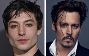 Ezra Miller - Johnny Depp - Magazine Horse