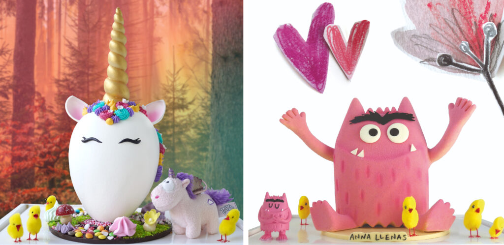 Mini-unicornio-monstre-feliç-monas-pascua-cristian-Escriba-Magazine-Horse