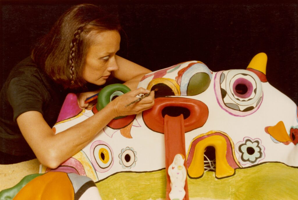Niki-de-Saint-Phalle-The-Traveling-Companion