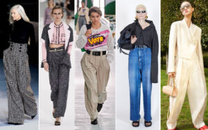 Pantalones altos y anchos - SS21 - Marcas de lujo - Tendencias - Magazine Horse