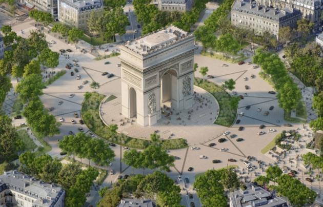Project-Champs-Elysées-arc-de-triomphe-Paris-Magazine-Horse