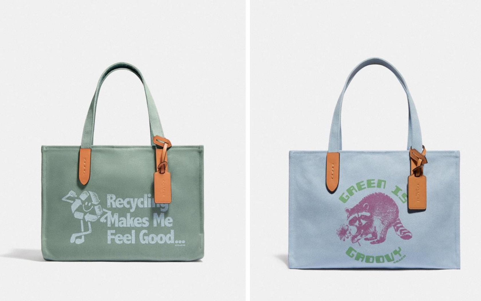 Tote 30 - Coach Forever - Magazine Horse