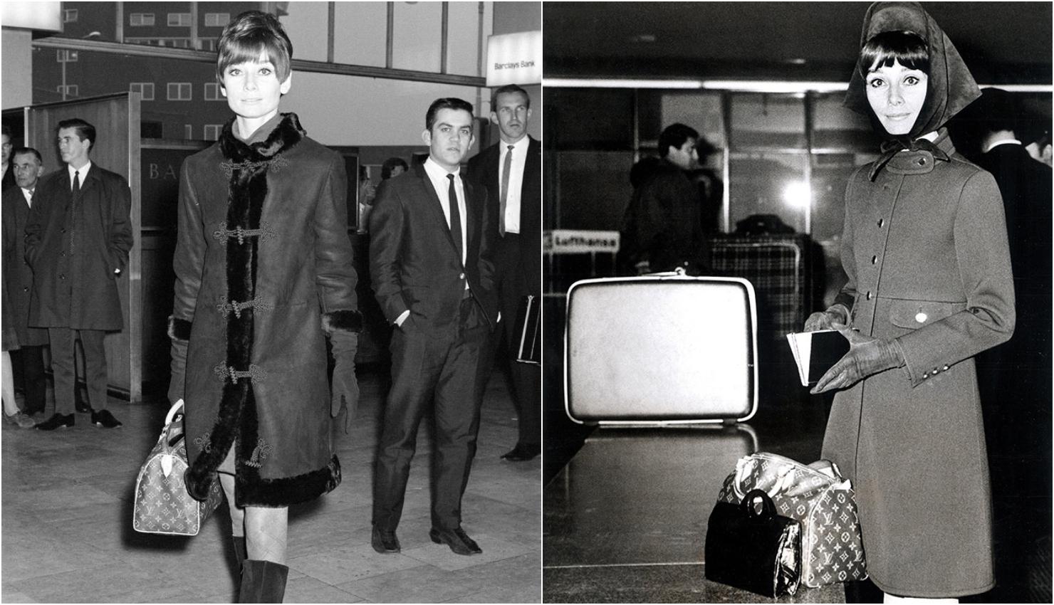 Audrey Hepburn con su Bolsa Speedy