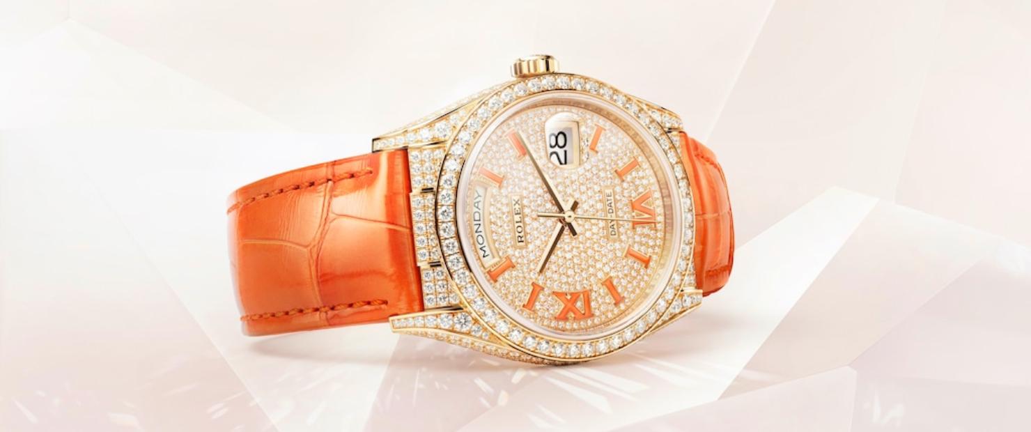 Novedades alta relojería para mujer Rolex Daydate