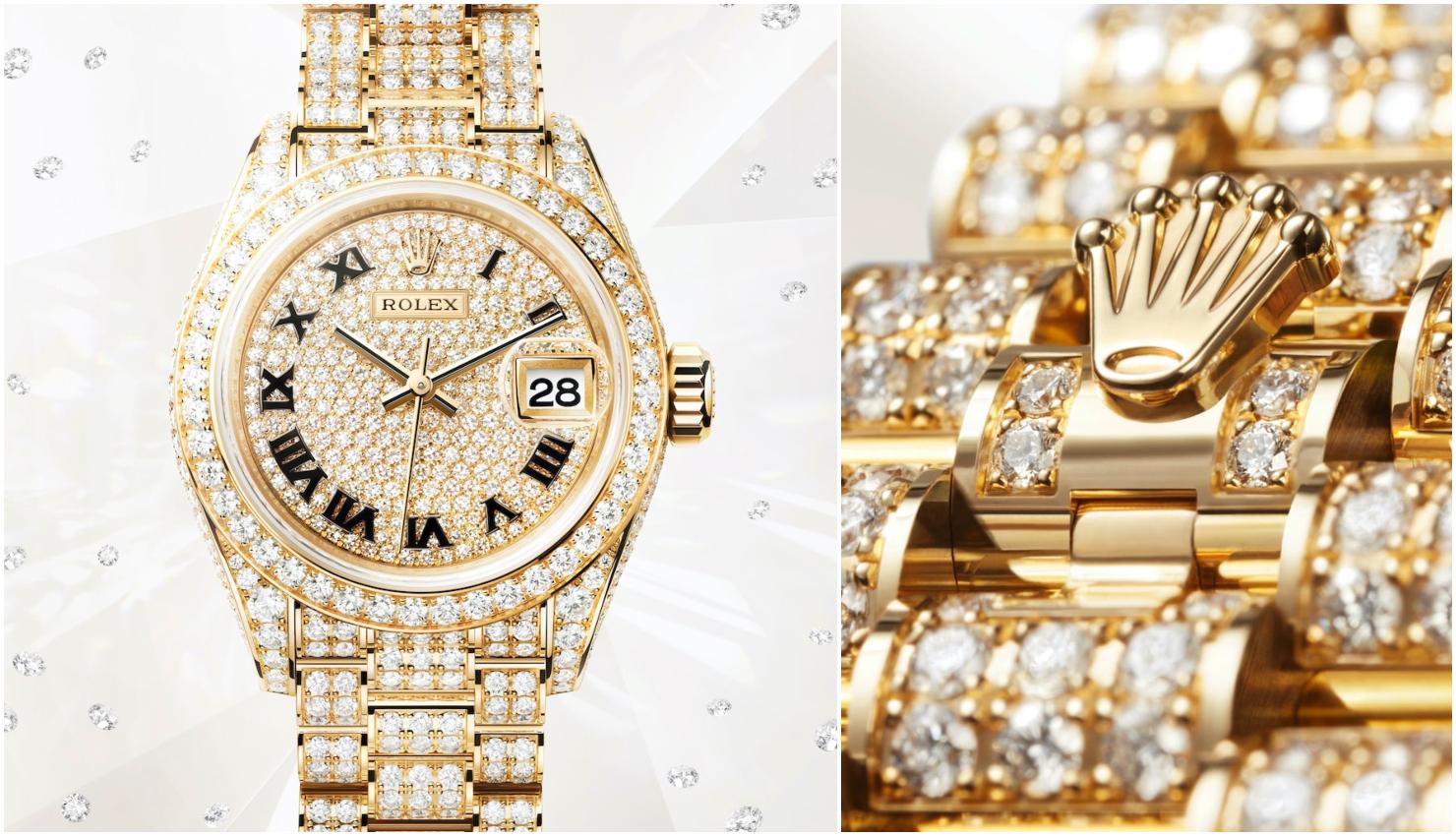 Novedades alta relojería para mujer Rolex Datejust