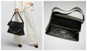 Karl-Lagerfeld-Amber-Valleta-Folded-tote-negro-magazine-horse-scaled