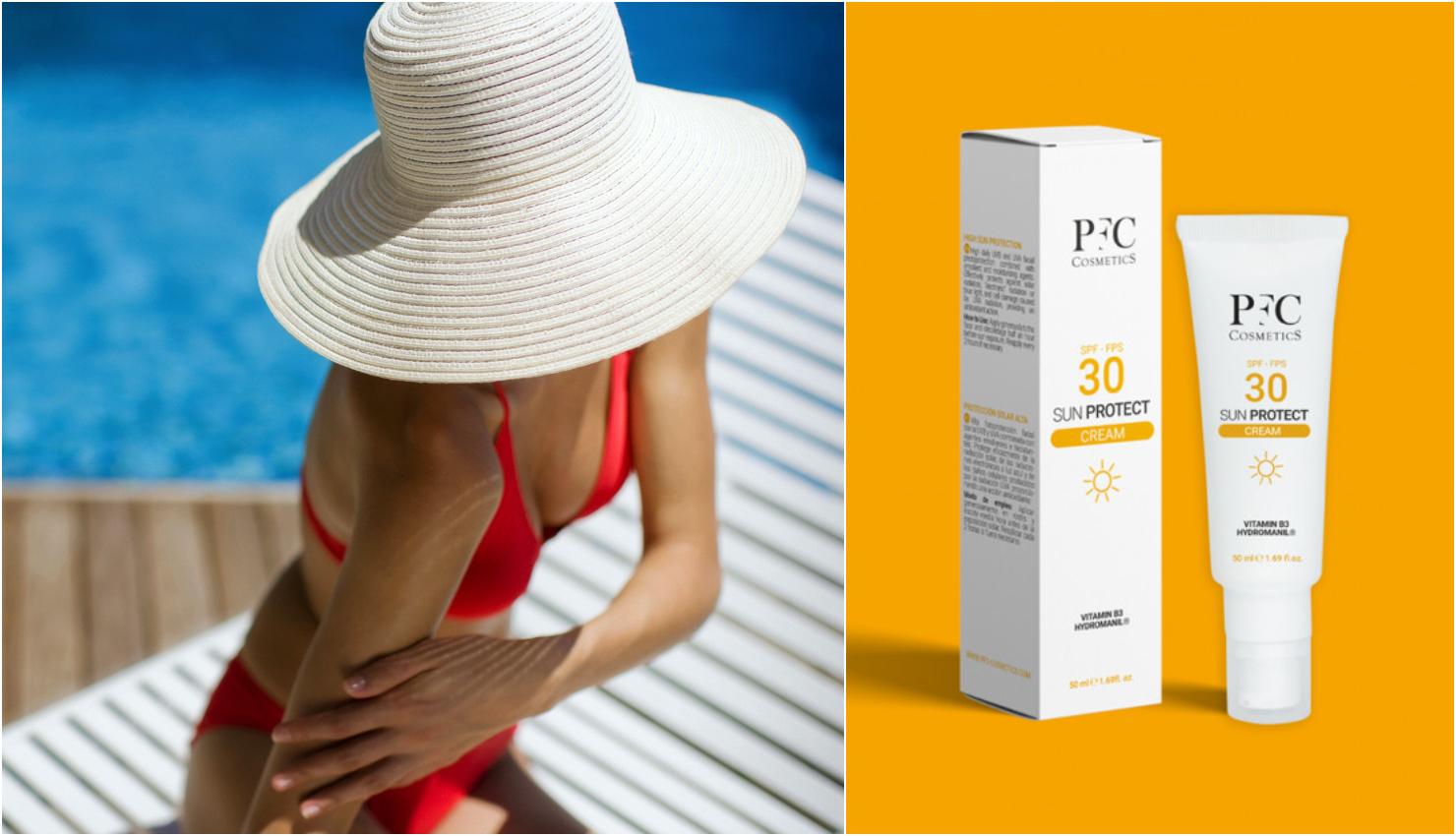 Cremas solares PFC Cosmetics