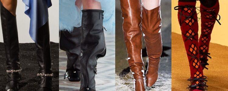 Tendencias en zapatos otoño-invierno 2021/22